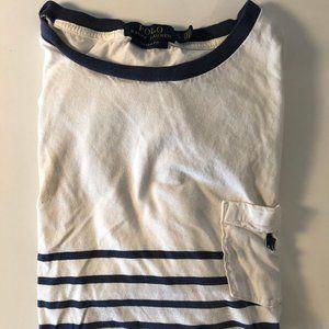 Men's Polo Ralph Lauren Striped T-Shirt - Large